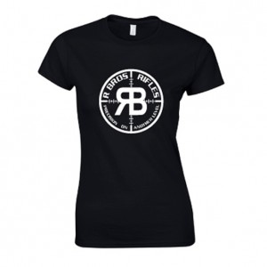 rbros-rifles-ladies-black-logo-tee